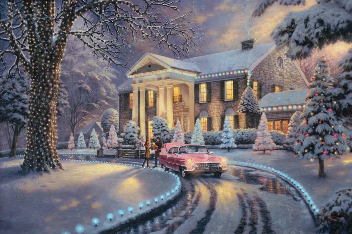 A BLUE CHRISTMAS AT GRACELAND (AREA 6